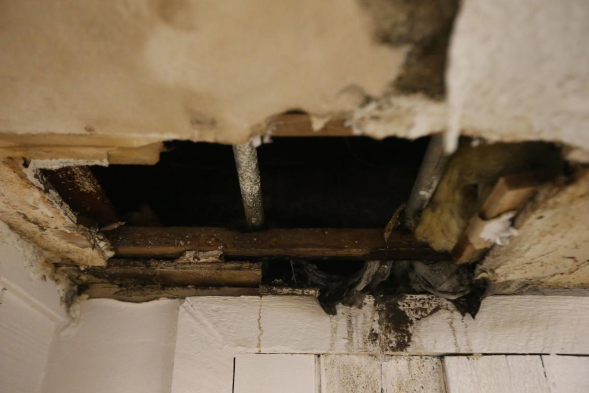 Deplorable conditions at T.E.H. Realty property Southwest Crossing Apartments