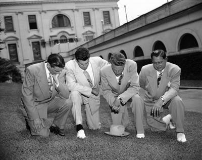 Evangelist Billy Graham Kneeling Prayer