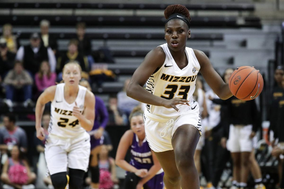 Aijha Blackwell, Mizzou women's basketball