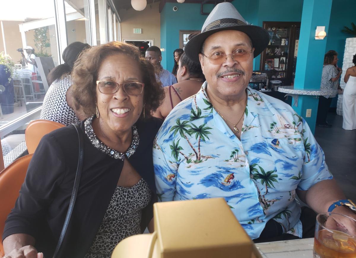Glenda Simmons and husband Joseph Simmons