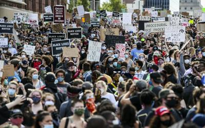 Marchers wind through Downtown St. Louis