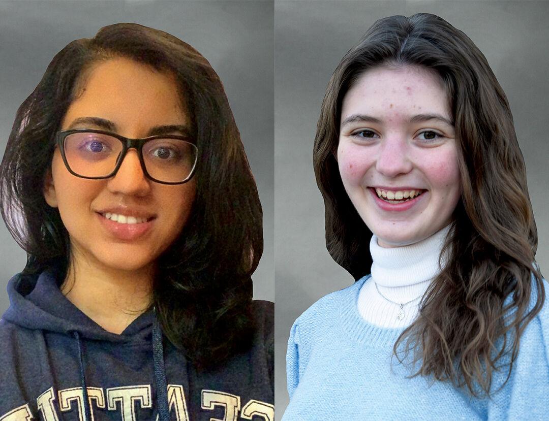 Zoe Knight and Shruti Panda, Gold Award Girl Scouts