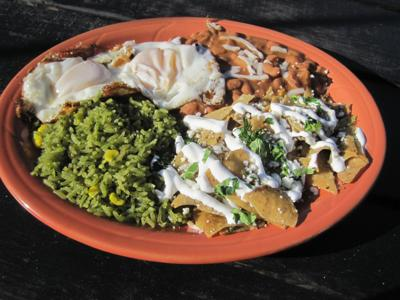 Special Request Dos Reyes  Chilaquiles