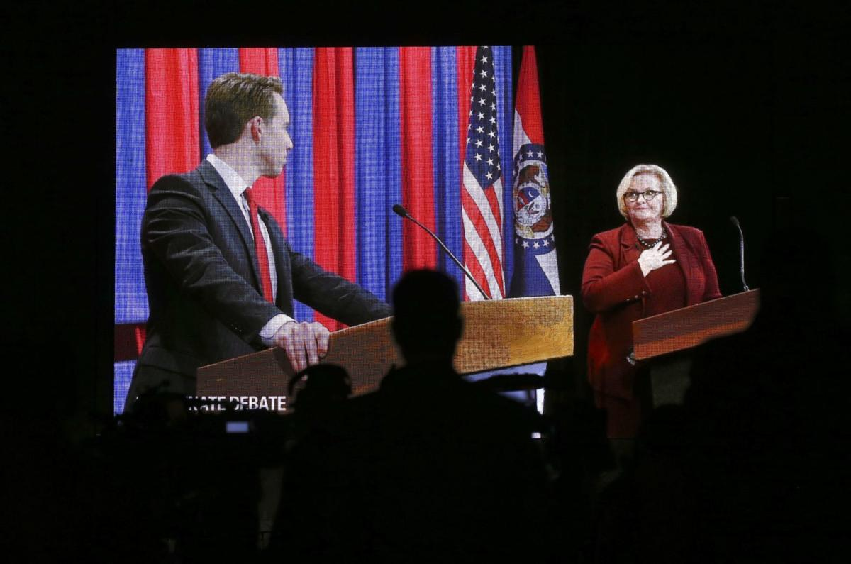 Hawley and McCaskill debate