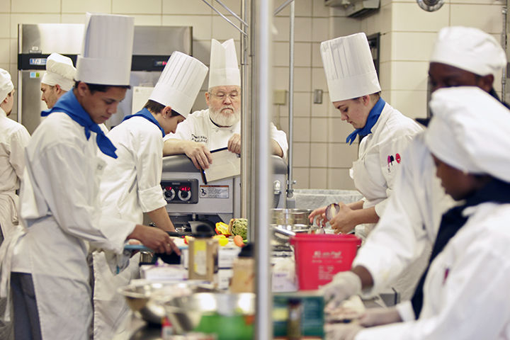 High school chefs