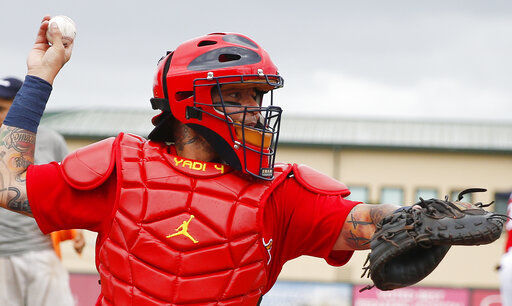 Photos: Cardinals play the Astros in spring training game