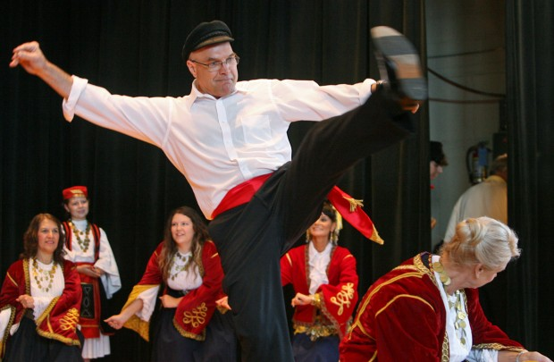 The heat doesn't stop the St. Nicholas Greek Festival