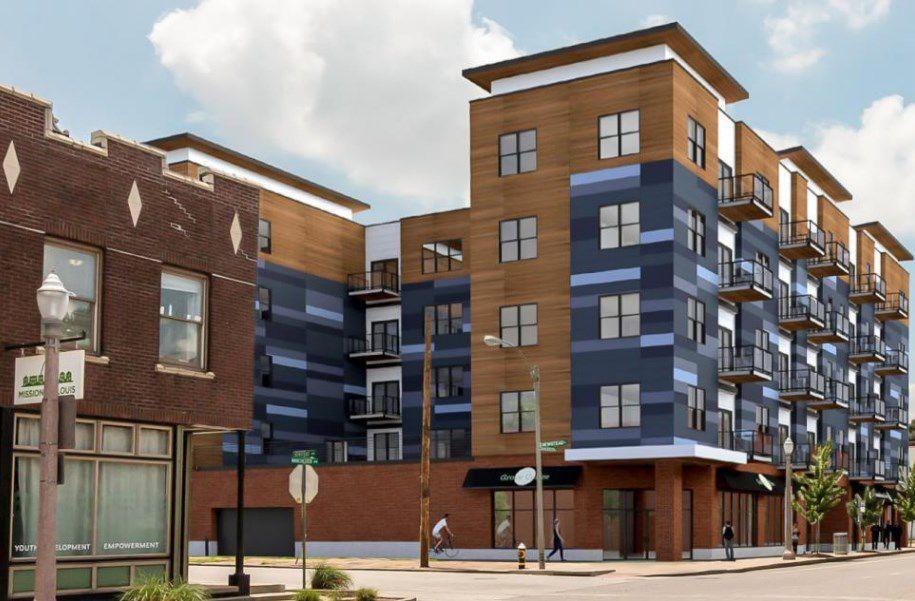 Rendering of Gateway Lofts project