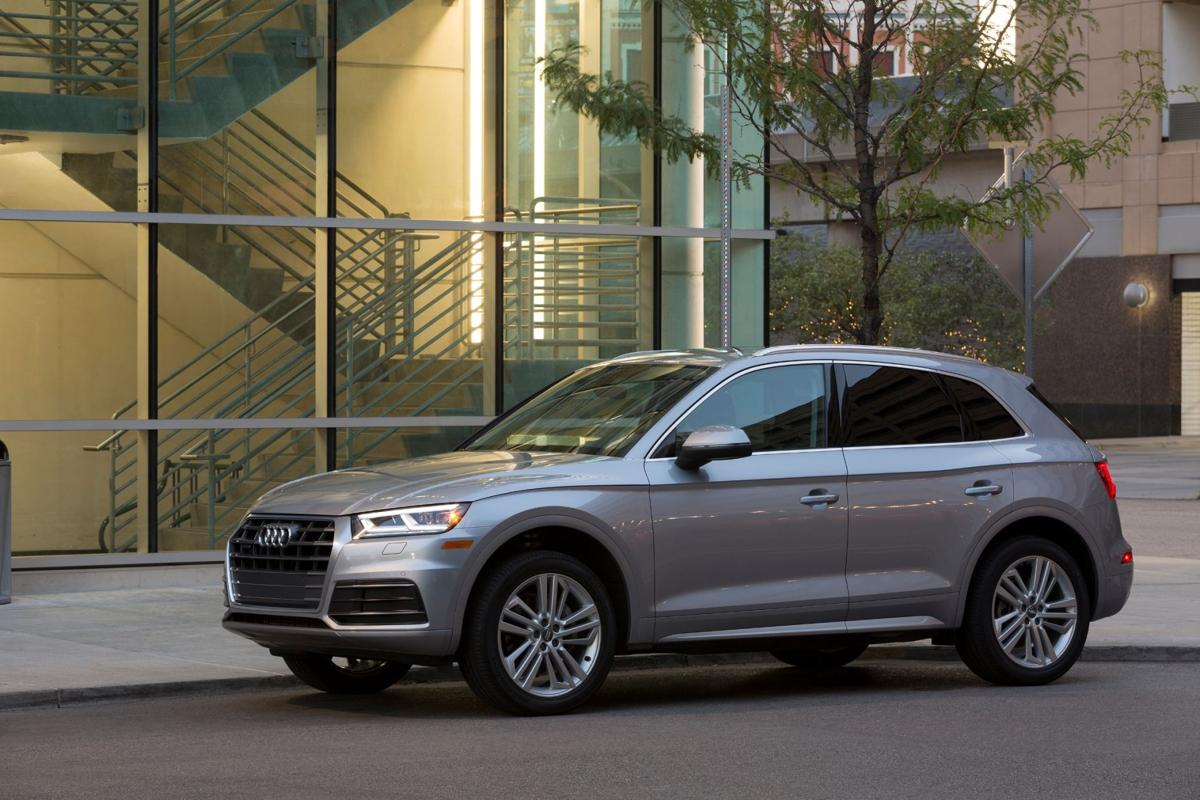 Fully Redesigned For 2018 The Audi Q5 Is A Deft Blend Of Crossover Utility And Driving Athleticism