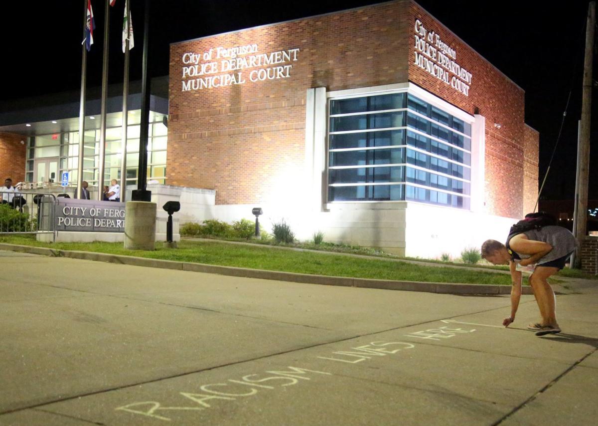 Ferguson police station