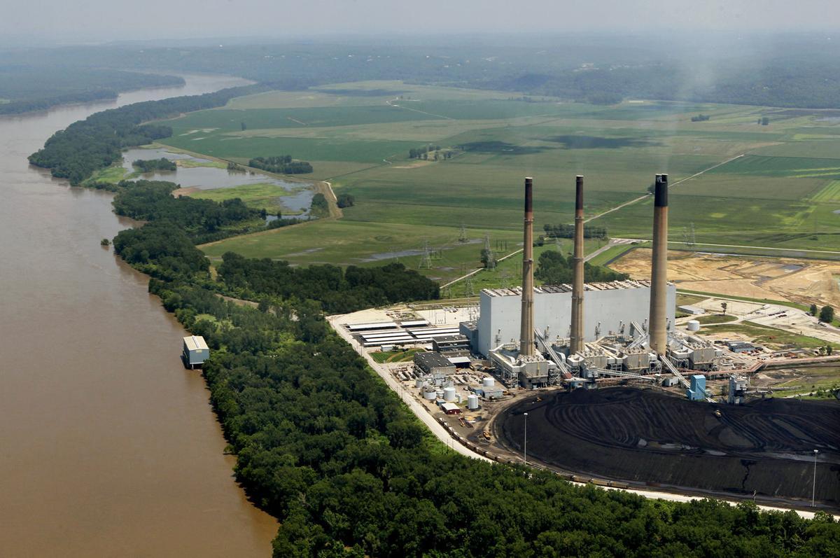 Ameren Missouri's proposed landfill along the Missouri River near Labadie