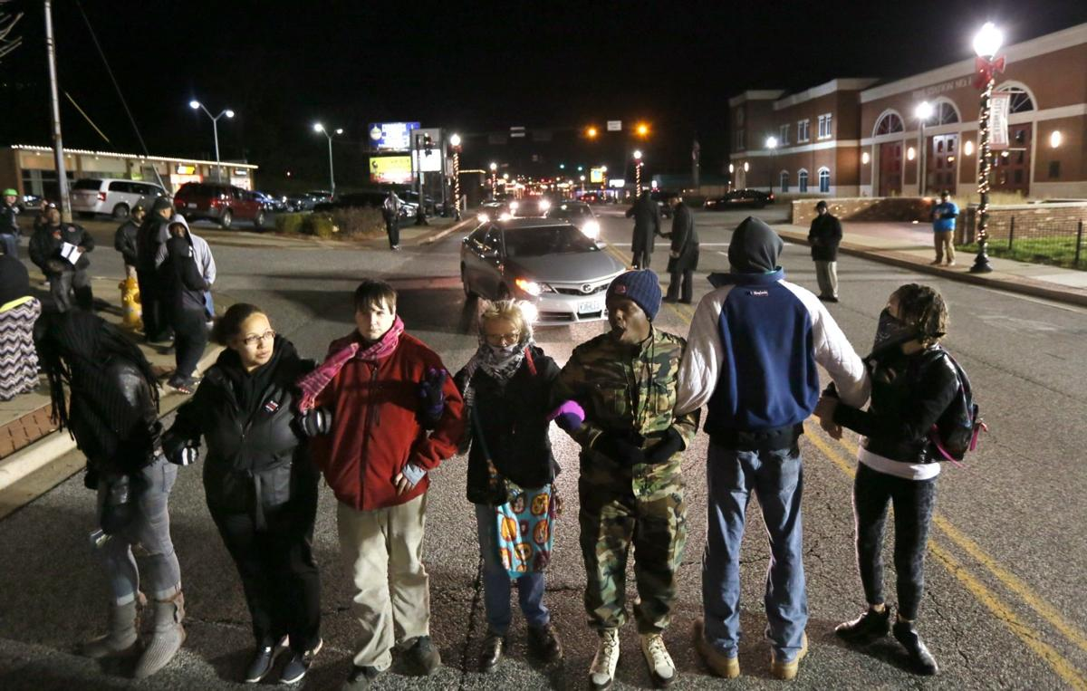 One-year anniversary of grand jury decision not to indict Ferguson police officer Darren Wilson