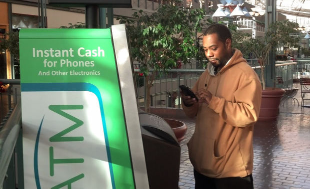 Kiosks help recycle used cellphones, but some worry about theft