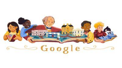 Google doodle's George Peabody