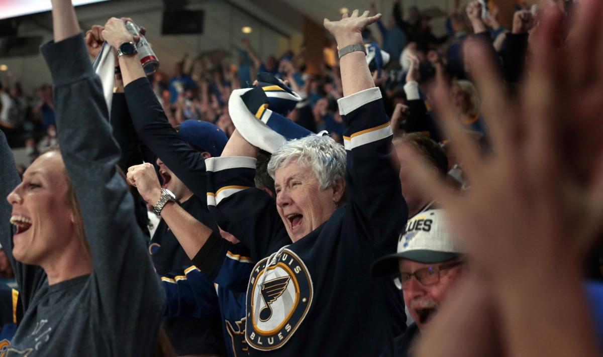 Game 7 is a dream come true for a young Blues fan