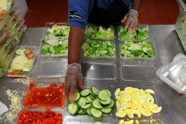 School lunches get healthier