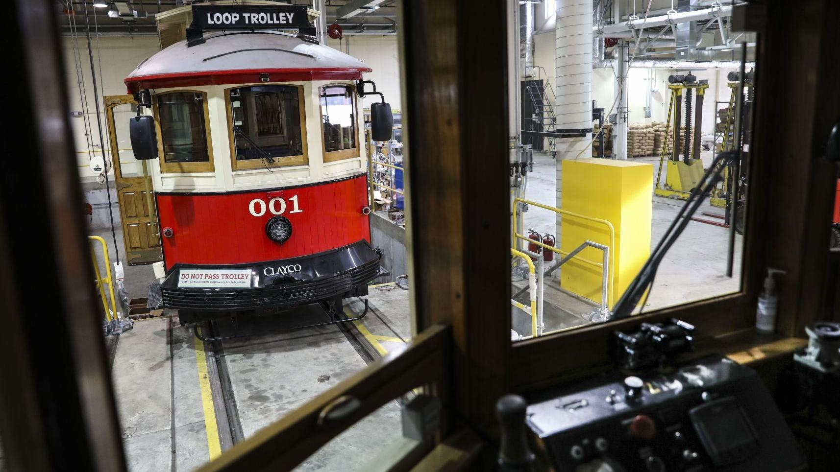 Photos: Loop Trolley still struggling to find backers