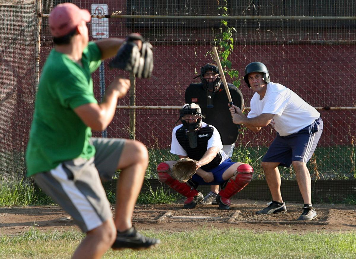 Corkball is a St. Louis tradition