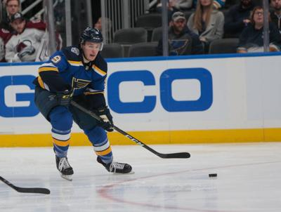 Blues take on Avalanche
