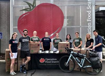 Operation Food Search Staff Take Delivery of 400 Plant-Based Meals