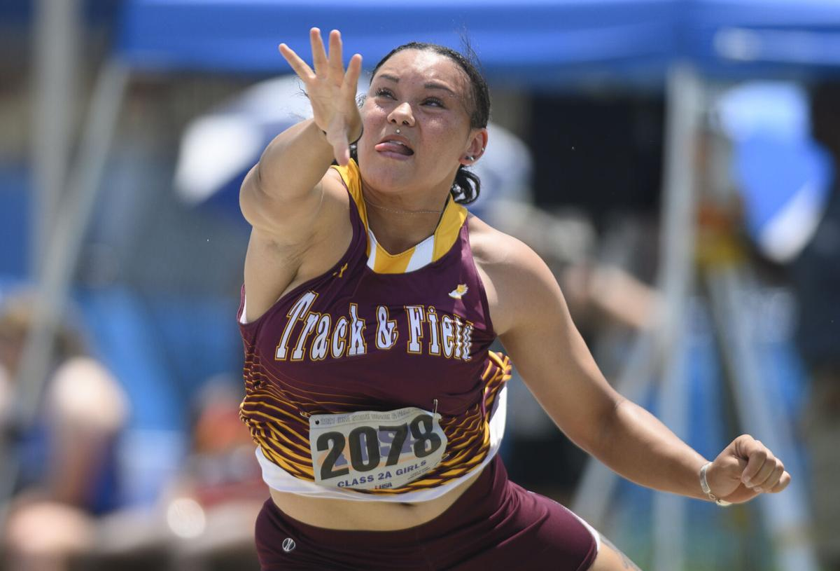 Class 2A girls track and field state championship