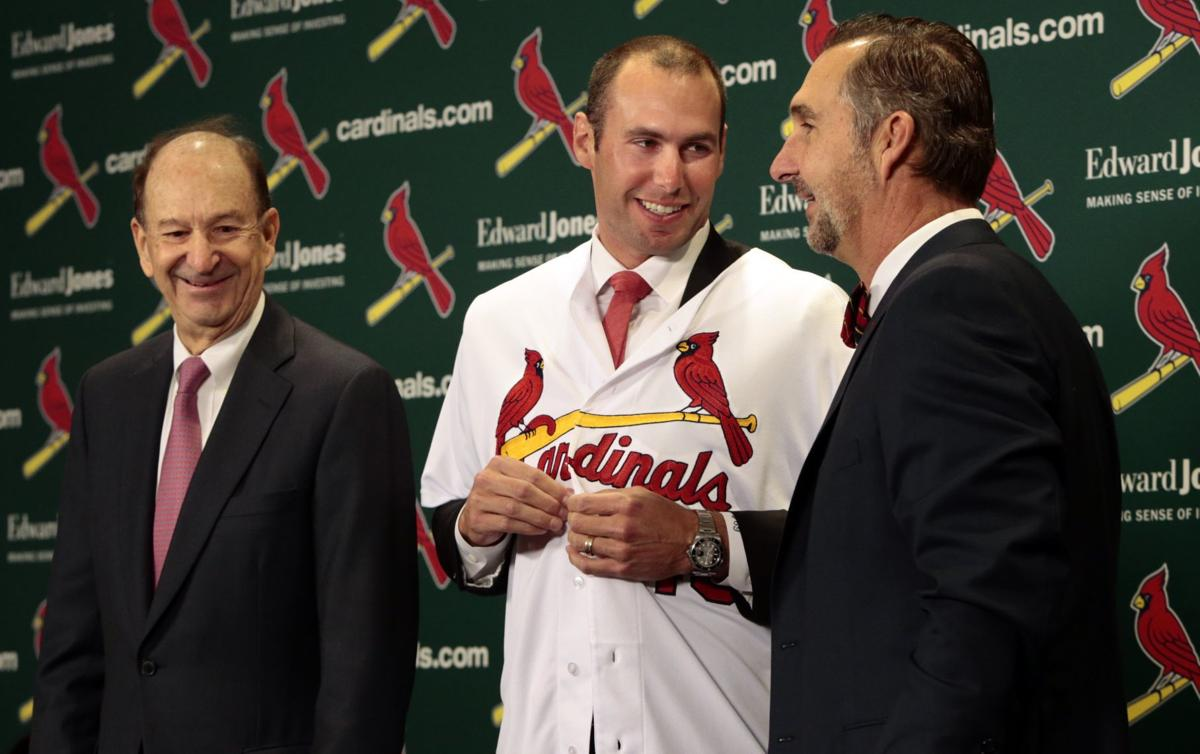 Cardinals introduce Paul Goldschmidt