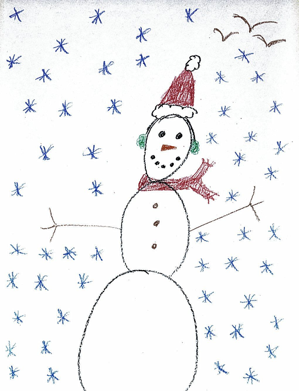 hey kids send us your winter drawing and you could win local news