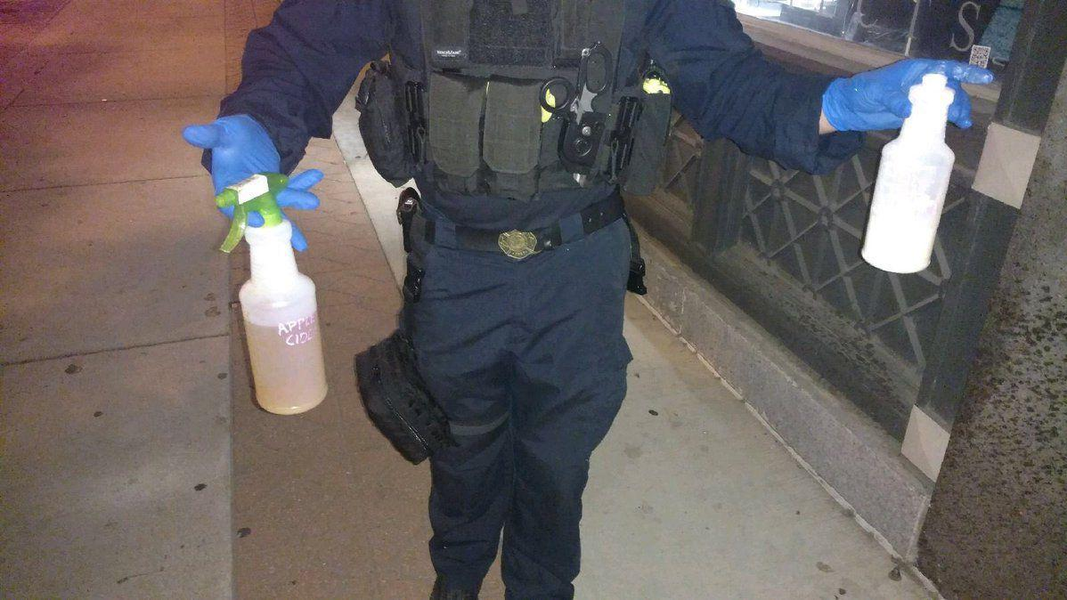 False positive in field led St. Louis County officers to fear protesters threw chemicals at them
