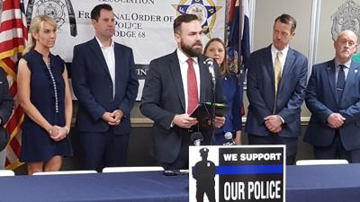 Press conferernce by Nick Schroer and other state reps., 6-2-21