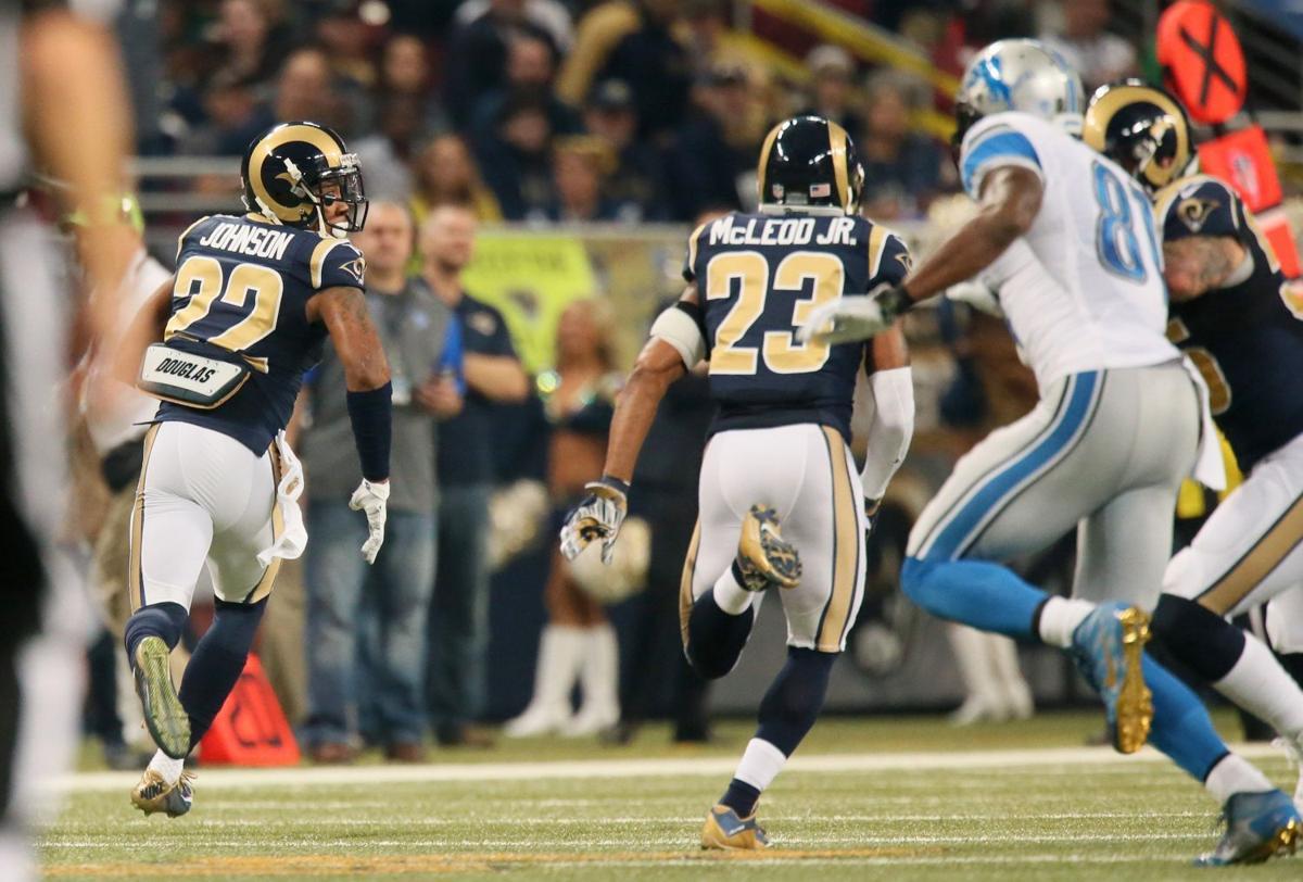 T Johnson helps Rams stifle Megatron NFL