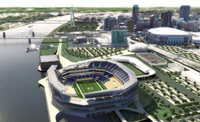 Rams Stadium rendering