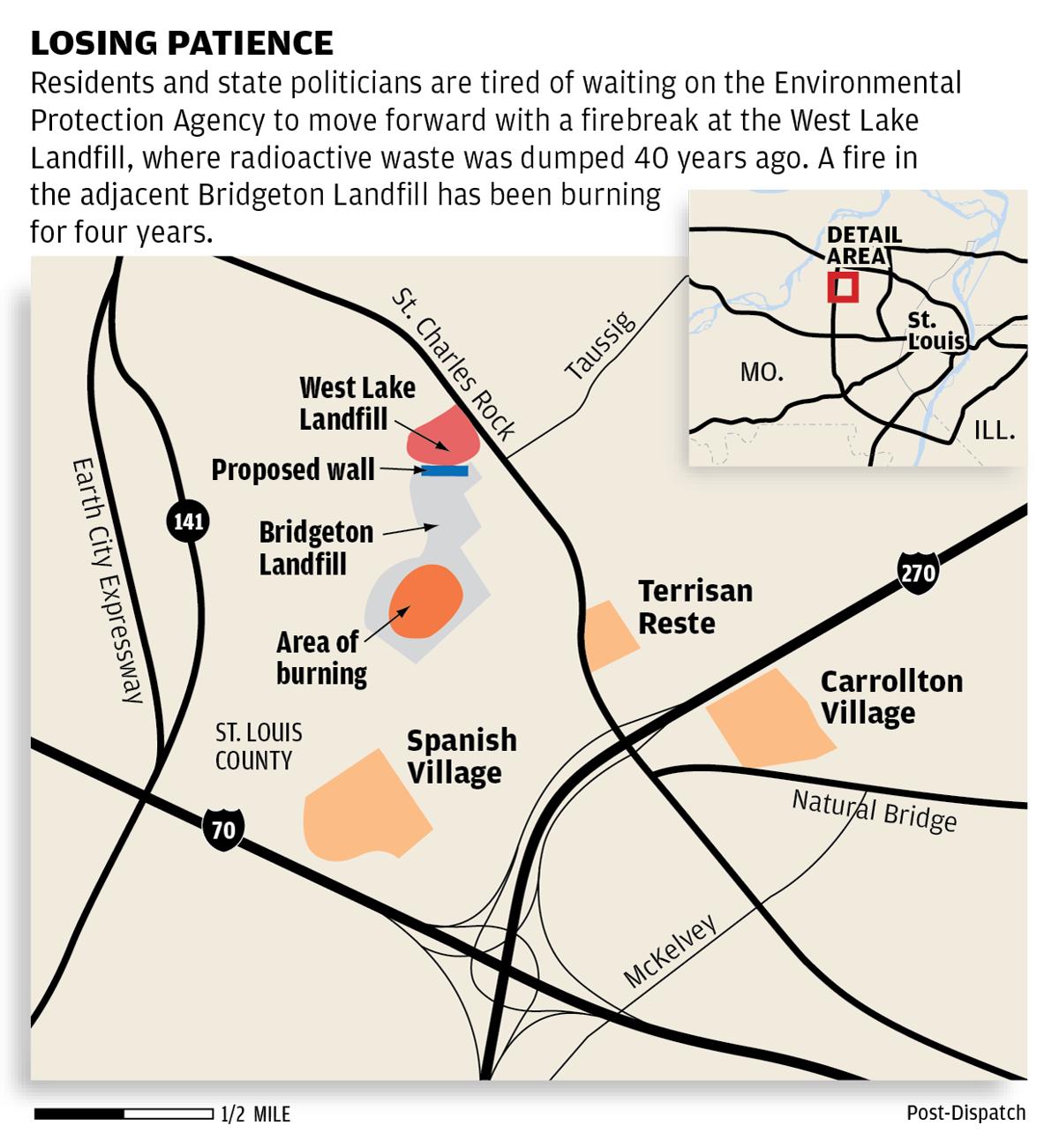 Map: Westlake Landfill