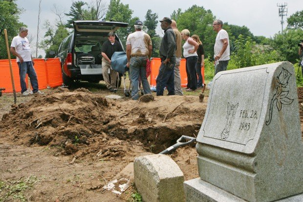 Murder victim exhumed in Berkeley