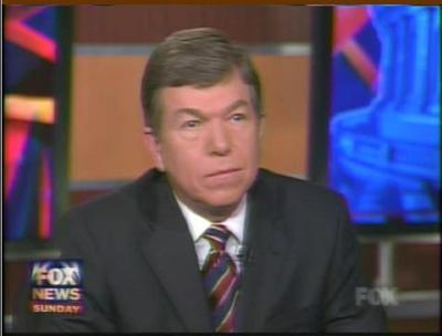 Roy Blunt on Fox News, as it appears in a Robin Carnahan campaign ad