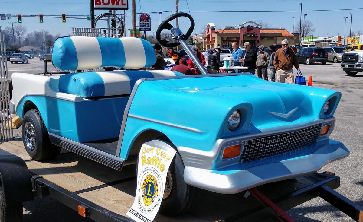 A 50s Chevy golf cart | Automotive | stltoday.com Suzuki Golf Cart Engines Html on