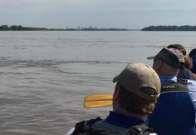 Mississippi River below the confluence