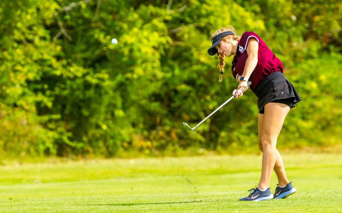 Class 2 District 1 girls golf tournament