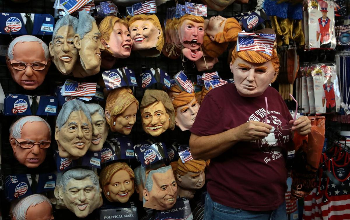 Trump leads Clinton ... in mask sales | National politics ...