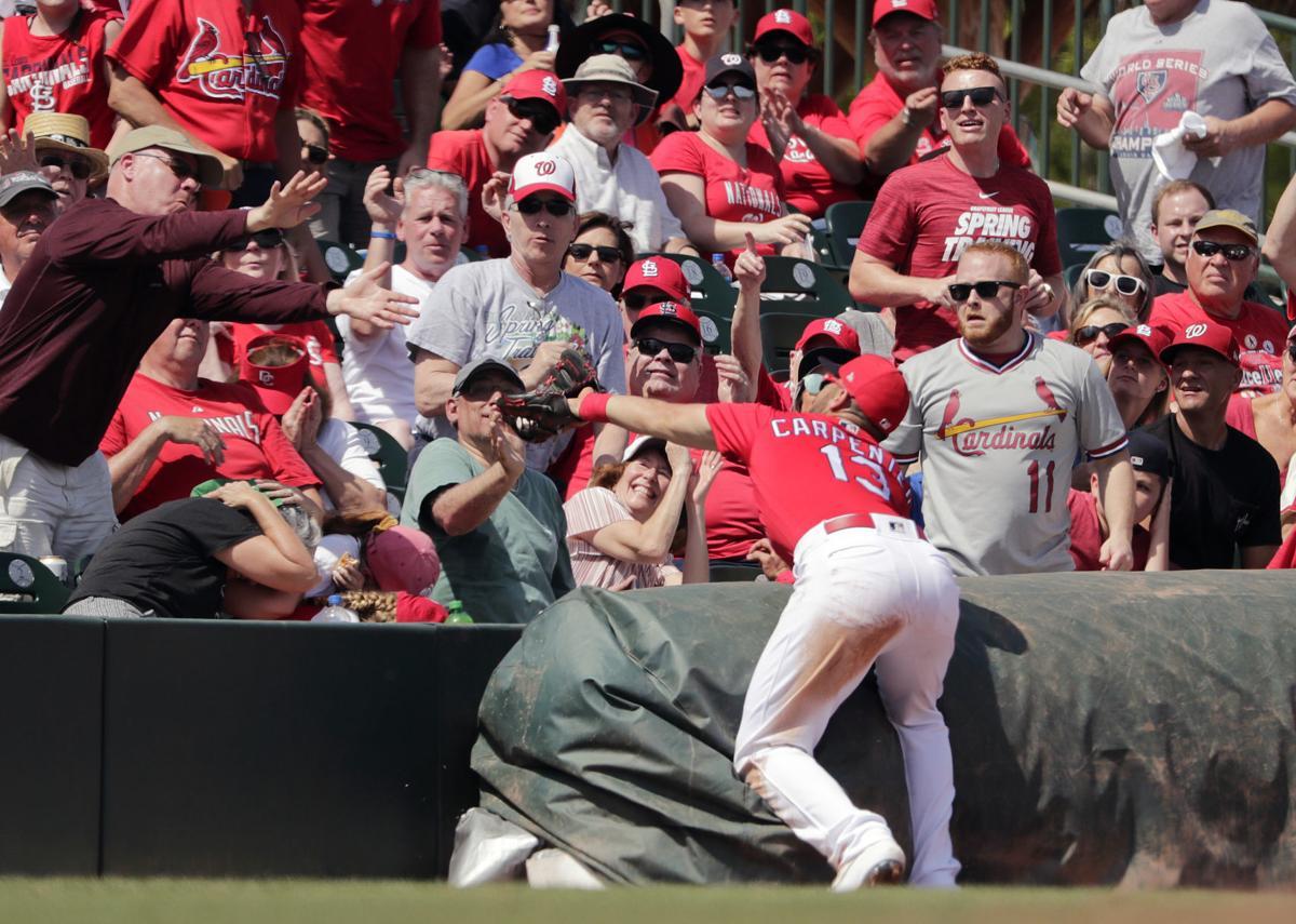 Photos: St. Louis Cardinals play Washington Nationals in spring training