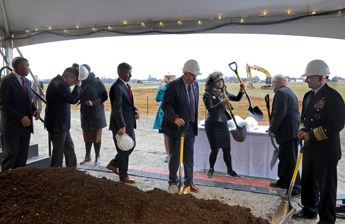 Officials break ground on NGA site in north St. Louis