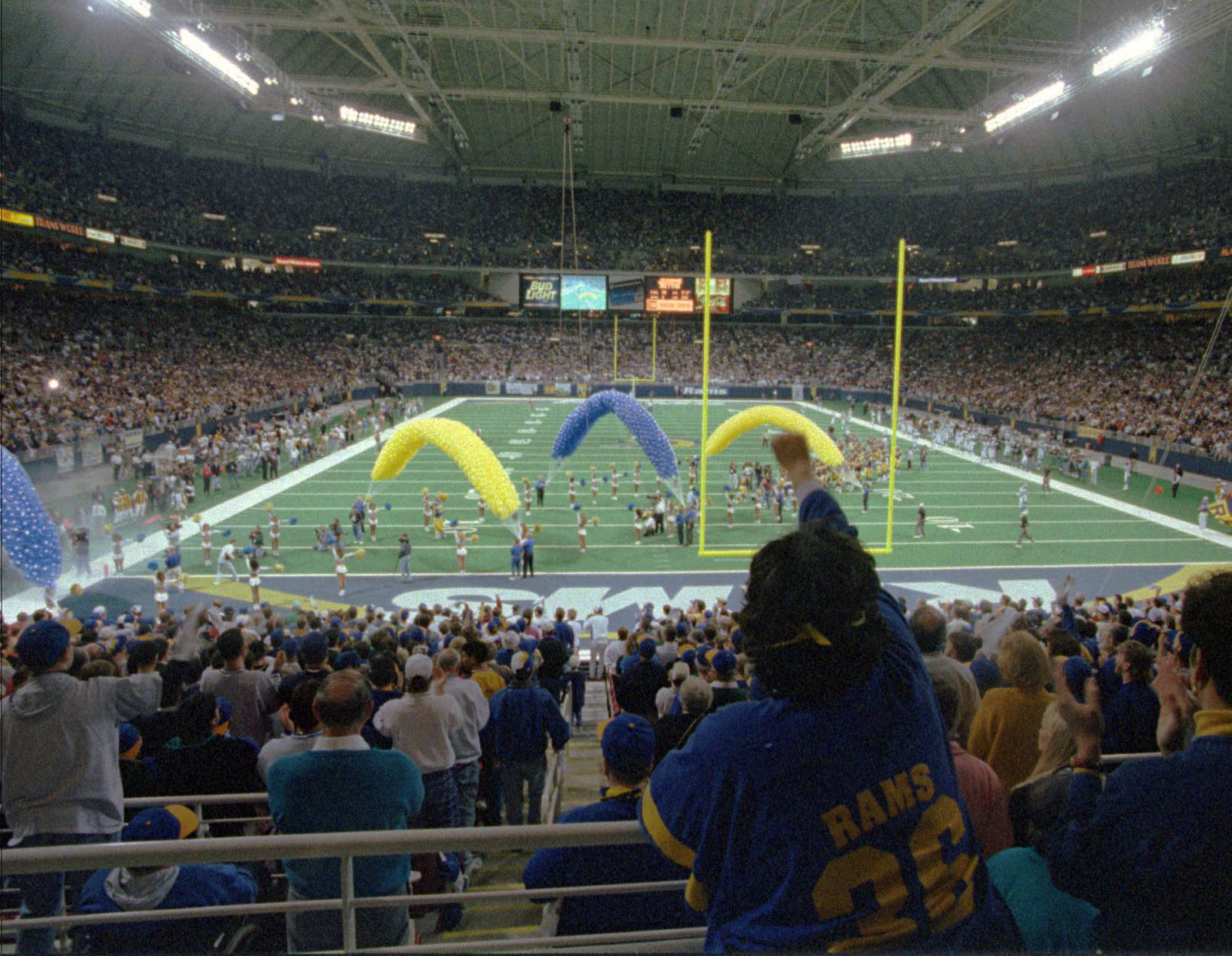 OR ST LOUIS RAMS NFL FOOTBALL TALKING BOTTLE OPENER SUPER BOWL XXXIV 2000 L.A