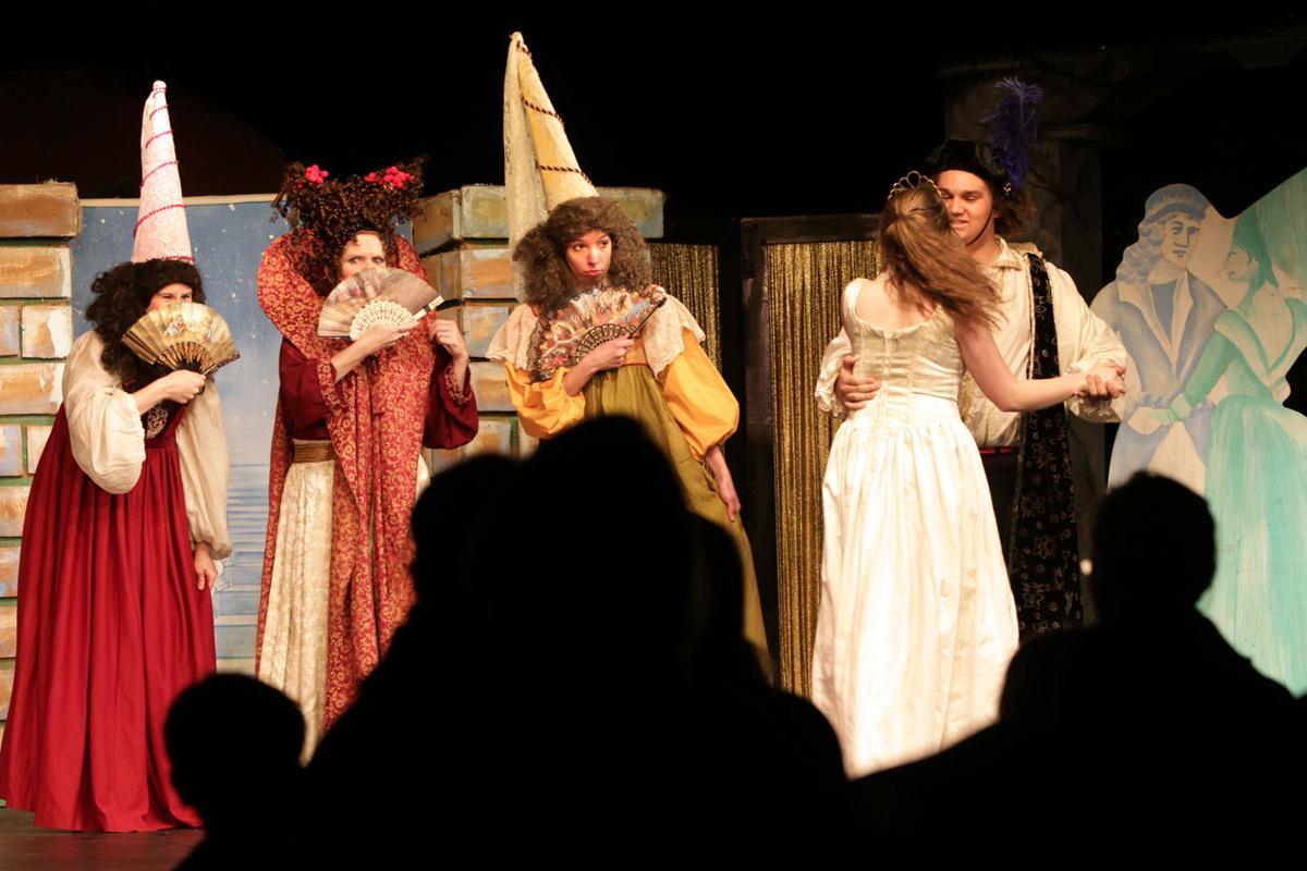 Piwacket presents CinderBottom at Black Cat Theatre