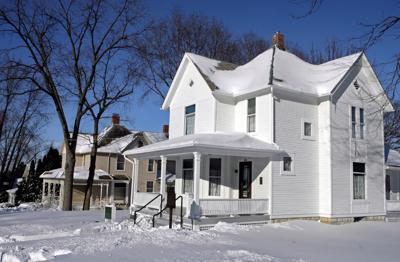 Ronald Reagan's boyhood home