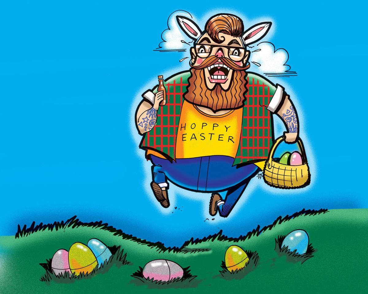 Image result for adult easter egg hunt