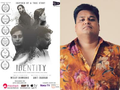 Poster Identity along with Amit Chauhan