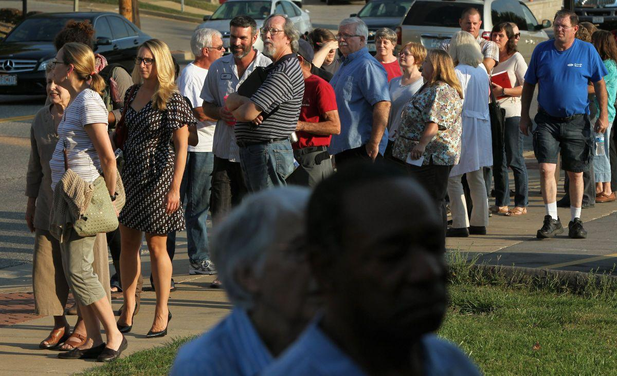 Ferguson residents gather for town hall meeting