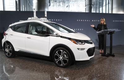 GM Autonomous Car Tests