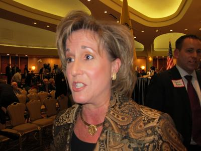 St. Louisan Ann Wagner in Washington last month seeking support in her bid for chairman of the National Republican Party.