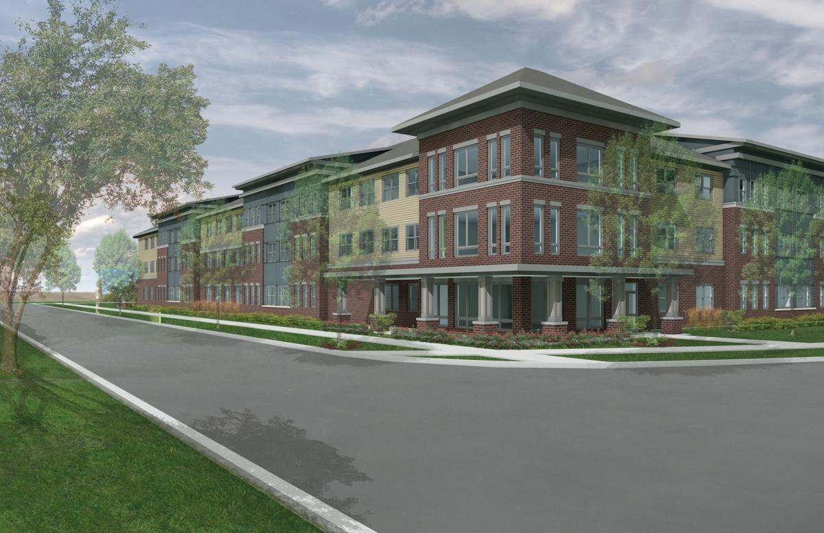 One Bedroom Apartments In St Louis Mo Senior Living Project Breaks Ground At Swansea Metro