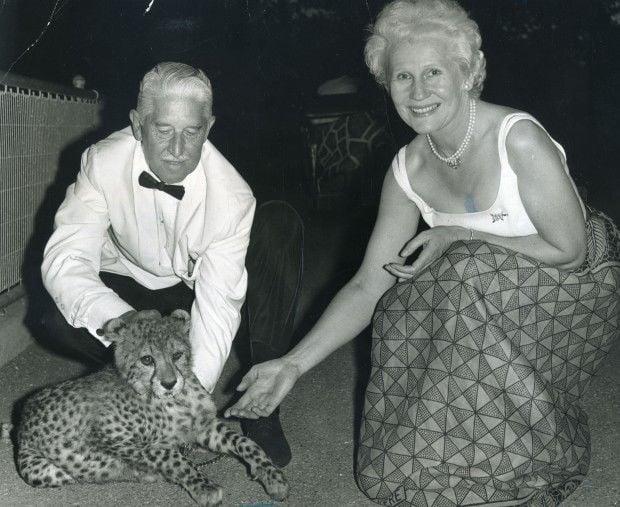 Marlin Perkins and his wife Carol Perkins